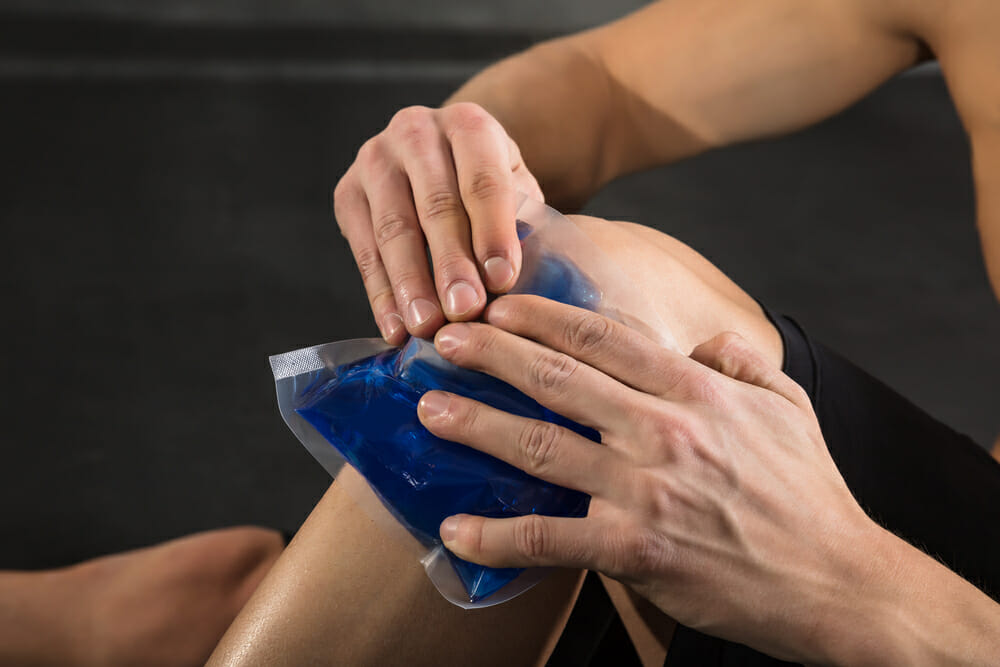Why we use Ice in Injuries